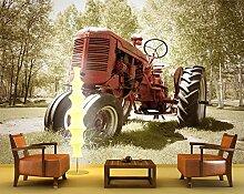 Vliestapete Alter Traktor VT517 Größe:400x280cm,