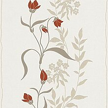 Vliestapete Blumentapete florale Tapete 958741