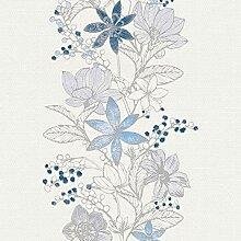 Vliestapete Blumentapete florale Tapete