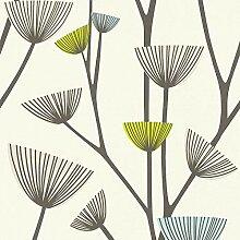 Vliestapete Blumentapete florale Tapete Tapeten