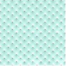 Vliestapete Diamant Türkis Luxus, HxB: 288cm x