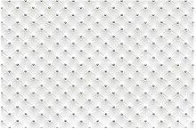 Vliestapete Diamant Weiß Lxus, HxB: 255cm x 384cm