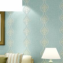 Vliestapete/Einfache European-Style Tapete/Wellenförmigen Streifen Tapete/Wohnzimmer Schlafzimmer Tapeten/[Hintergrund Tapete]-D