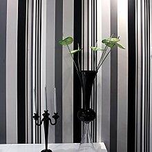 Vliestapete/einfache Tapete/Moderne vertikale Streifen Tapete/Wohnzimmer Wände für Wallpaper-A