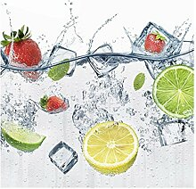 Vliestapete Frucht Cocktail, HxB: 288cm x 288cm