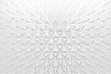 Vliestapete Geometrisches Muster 3D Effekt, HxB: