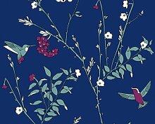 Vliestapete Jette 2358-31 235831 Tapete Design blau