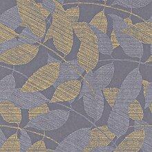 Vliestapete lila gold Natur Rasch Textil 226354