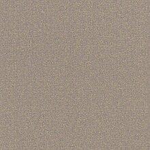 Vliestapete lila gold Uni Rasch Textil 226606