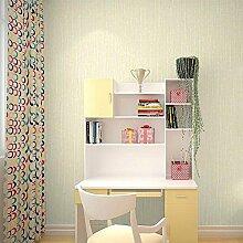 Vliestapete Moderne einfache Einfarbige Tapete Wohnzimmer Schlafzimmer Hotel , 3
