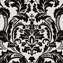 Vliestapete P+S Artemis Tapete 13233-50 1323350 Barock schwarz metallic creme