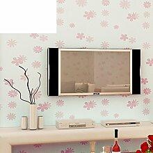 Vliestapete/Romantische Garten Blumentapete/Schlafzimmer Wohnzimmer Studie TV Hintergrund-A