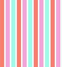 Vliestapete Streifen türkis rot pink Everybody