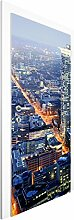 Vliestapete Tür - Frankfurt - Türtapete , Größe HxB: 215cm x 96cm