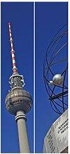 Vliestapete Tür Premium–Berlin