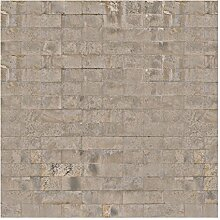 Vliestapete Ziegel Tapete Beton, HxB: 288cm x 288cm