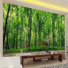 Vliestapeten 3D Fototapete Elch Dschungel 3D