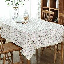 VLIMG Tischdecken , Baumwollstoff Gartentisch