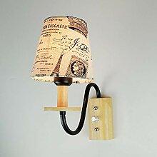 VLING Wandlampe, Anti-Glare Rustikal/Lodge