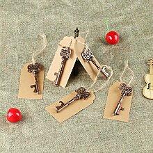 vlovelife 10 Hochzeitsgastgeschenke Schlüssel