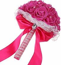 Vlovelife Brautstrauß aus Kunstblumen,