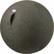 VLUV STOV Stoff-Sitzball 65cm Anthrazi