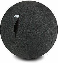 VLUV STOV Stoff-Sitzball 75cm Anthrazi