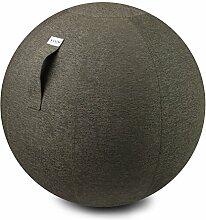 VLUV STOV Stoff-Sitzball 75cm Greige
