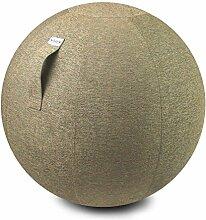 VLUV STOV Stoff-Sitzball 75cm Kiesel