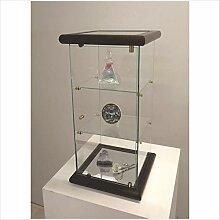 VM ART DESIGN GLASS glasvitrine VM109T (Dark Wood)