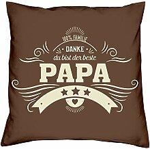 vmxdesign Geschenk Weihnachten Papa Kissen