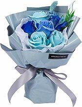 VNEIRW Blumenstrauß aus Rosen-Duftseife,