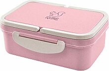 VNEIRW Weizen Stroh Bento Boxen Microwaveable