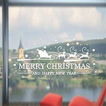vneirw259 Fensteraufkleber Weihnachten