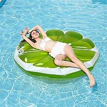 VNFWLDM Aufblasbare Float-Liege, Person