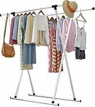 Vobajf Kleiderbügel Wäscheständer Boden