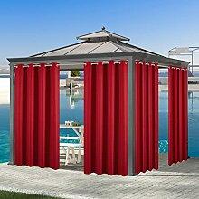 Voday Vorhänge, wetterfest, für drinnen und