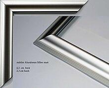 Vogel Design Bilderrahmen - Aluminium Köln Silber