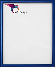 Vogel Design Bilderrahmen München - Blau 30x30cm