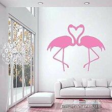 Vogel Fauna Flamingo Rosa Vogel Vinyl