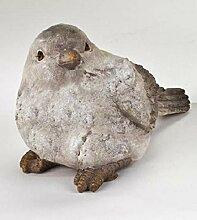 Vogel Garten Deko Tier Figur Skulptur Dekofigur