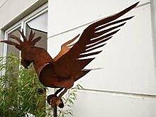 Vogel Gartenstecker Beetstecker