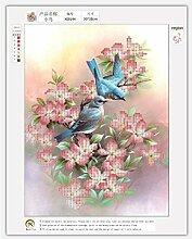 Vogel Muster 5D Diamant Malerei DIY Stickerei