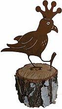 Vogel Rabe (Gartendeko) (Rost 2)