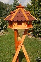 Vogelhäuschen, Vogelhaus mit Bitumschindeln,