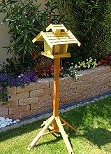 Vogelhäuser mit ständer BTV-VOVIL4-MS-gelb001