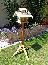 Vogelhäuser mit ständer BTV-VOVIL4-MS-natur001