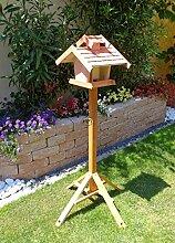 Vogelhäuser mit ständer BTV-VOVIL4-MS-rot001