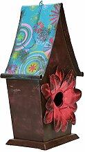 Vogelhaus aus metall zum aufhängen Deko Design