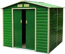 Vogelhaus Box Lager Werkzeug Lam. Verzinkt Grün